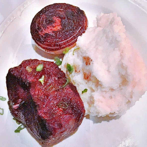 Filet Mignon - Chamberlain's Fish Market Grill, Addison, TX