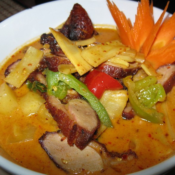 Red Curry Roast Duck @ Mekong Cafe