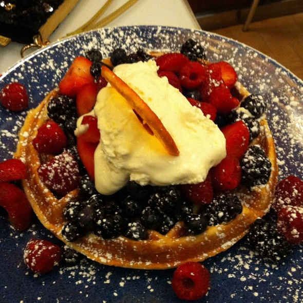 Waffles @ Norma's at Le Parker Meridien Hotel