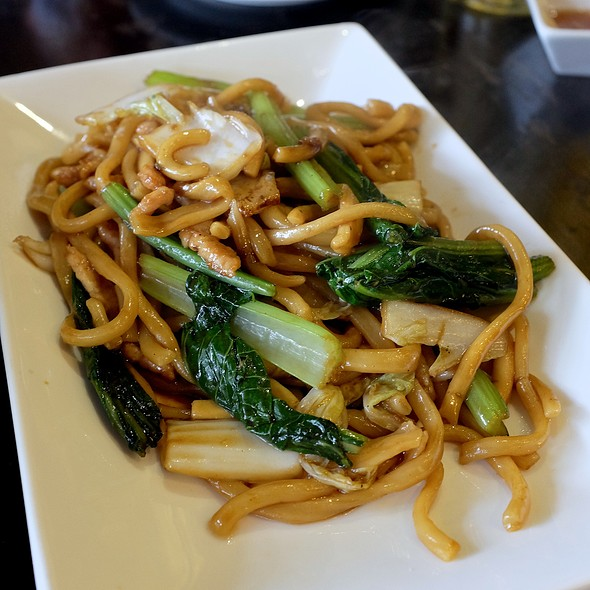 Fried Noodles Shanghai Style @ Ting Tai Fu (ติ่งไท้ฝู)