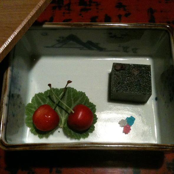 Cherries @ 懐石・宿  近又