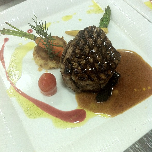 Australian Beef tenderloin @ Woodside Restaurant @ Parkyard Hotel Shanghai