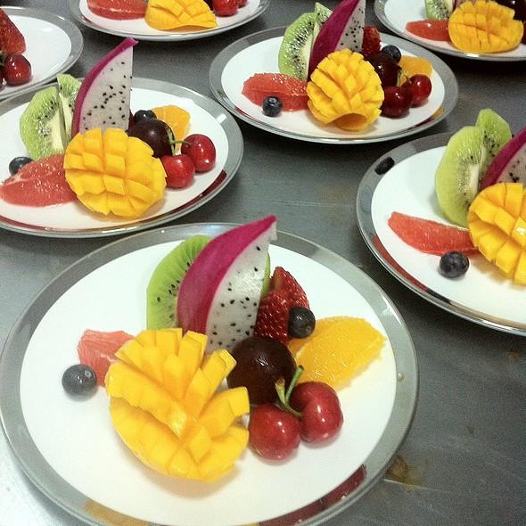 Fresh Fruit @ Woodside Restaurant @ Parkyard Hotel Shanghai