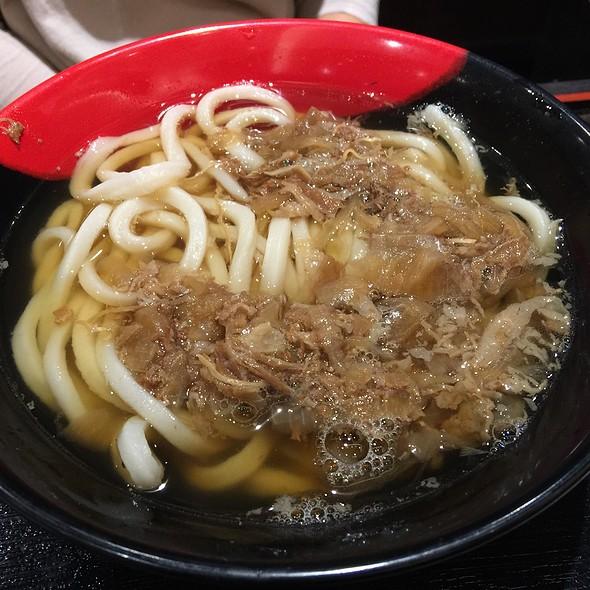 Niku Udon at Iyo Udon