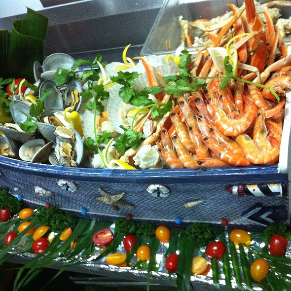 Seafood On Ice @ Woodside Restaurant @ Parkyard Hotel Shanghai