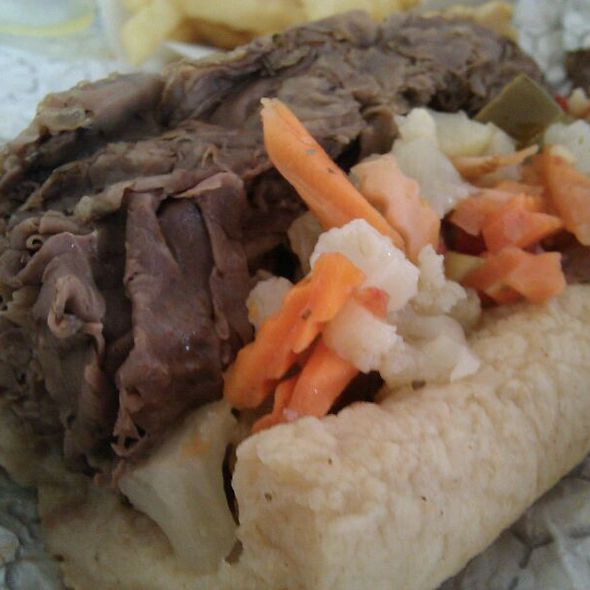 Italian Beef Sandwich @ Teddy's Red Hots