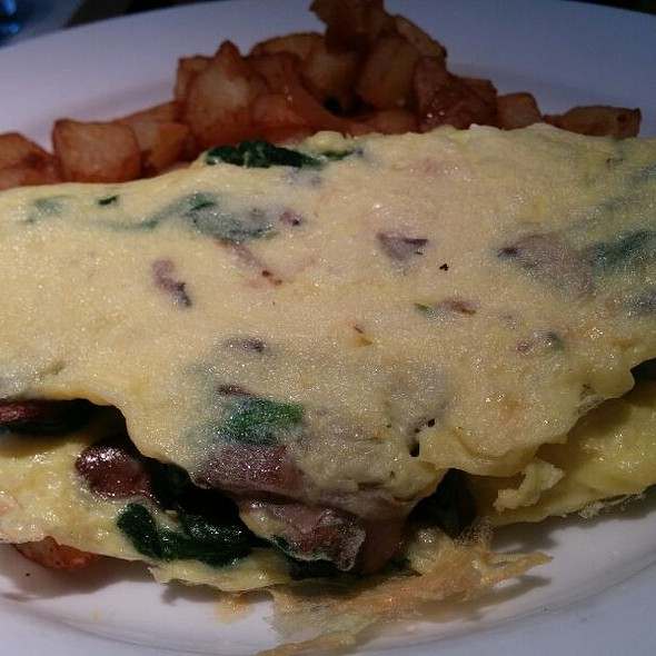 Spinach & Mushroom Omlette - Delicatessen, New York, NY