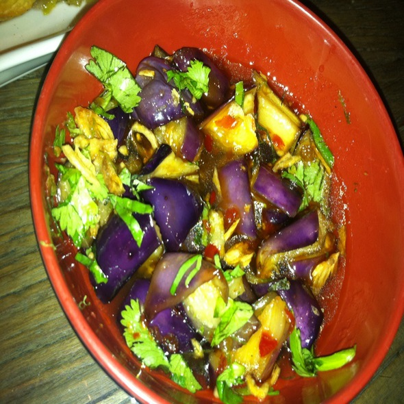 Chinese Eggplant With Thai Basil @ Urban Belly