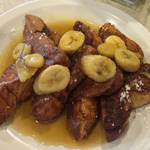 Banana Foster French Toast @ BC Cafe