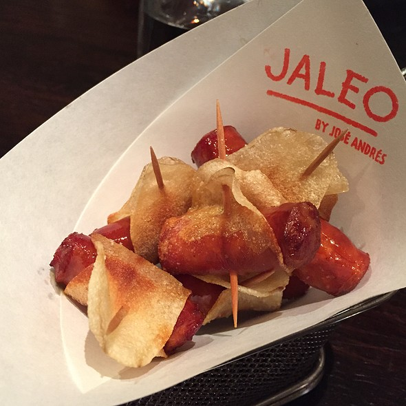 Chistorra Envuelta En Patata Frita @ Jaleo - The Cosmopolitan of Las Vegas