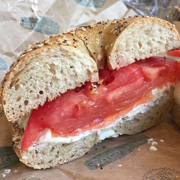 Bagel with Lox and Cream Cheese @ Zucker's Bagels & Smoked Fish