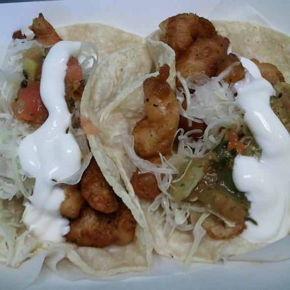 Fish Taco @ Best Fish Taco in Ensenada