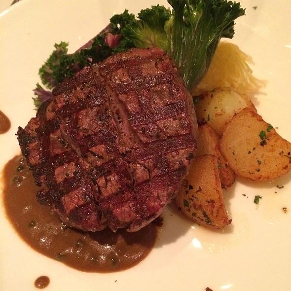 Triple A Sirloin Steak Platter - Al Porto Ristorante, Vancouver, BC