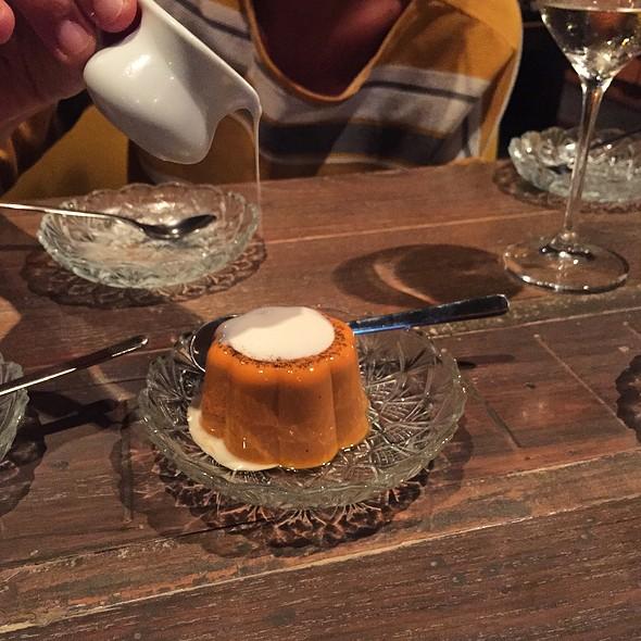 Thai Tea Panna Cotta @ Supanniga Eating Room - ห้องทานข้าวสุพรรณิการ์