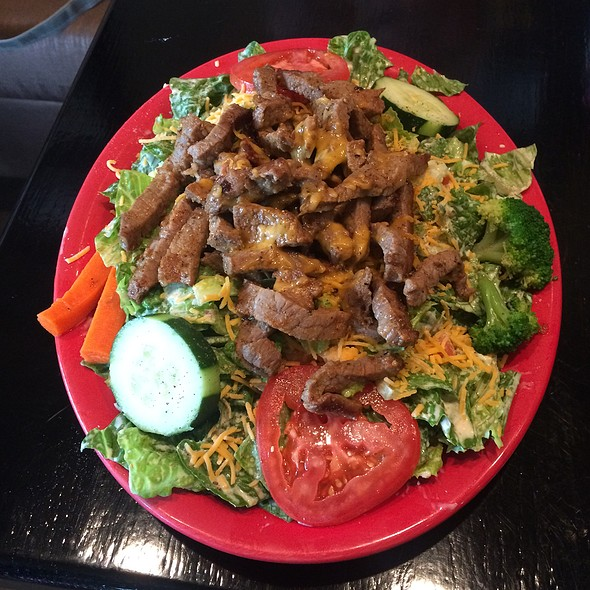 Steak Salad @ Mike's Grillhouse