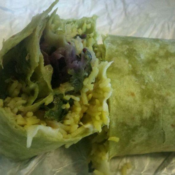 Sabji Wrap @ Govinda's Gourmet Vegetarian