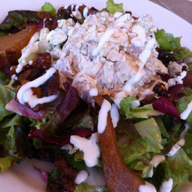 Caramelized Pear And Chicken Salad