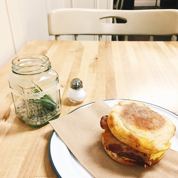 Breakfast Sandwich @ Picnic On Third