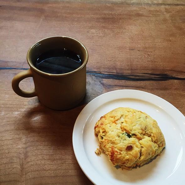 Cheddar Bacon Scones @ Sightglass Coffee