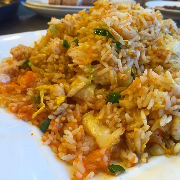 Fried Rice With Crab Egg & Sea Bass @ Hong Kong Food Street