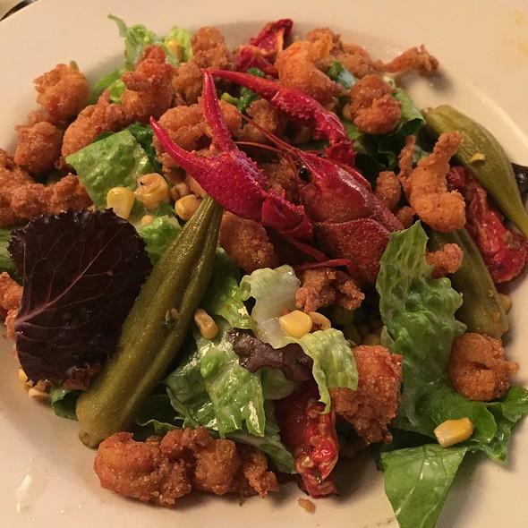 Fried Crawfish Salad