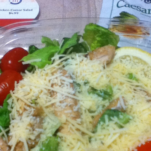 Chicken Ceaser Salad @ Alegent Health Bergan Mercy Medical Center
