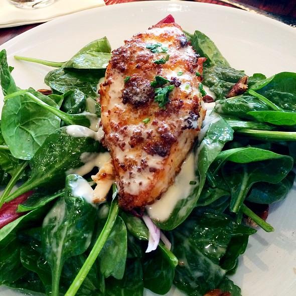 Salmon salad @ The Bungalow Lakehouse