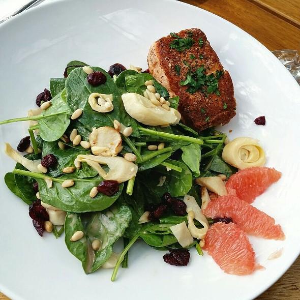 Salmon salad - Lone Eagle Grille, Incline Village, NV