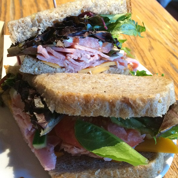 Park City Sandwich @ Kayak's Coffee & Provisions