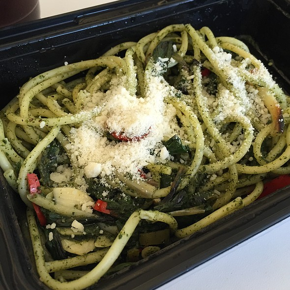 Bucatini With Ramps And Nettles