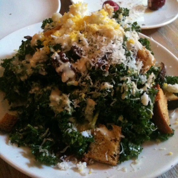 Kale Caesar Salad @ The Fat Radish