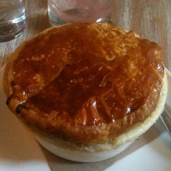 Mussel And Heritage Ham Pie @ The Fat Radish