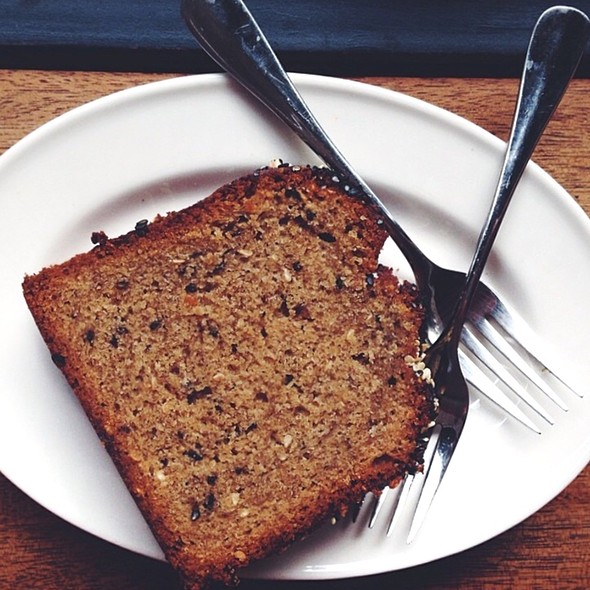 Black Sesame Banana Bread