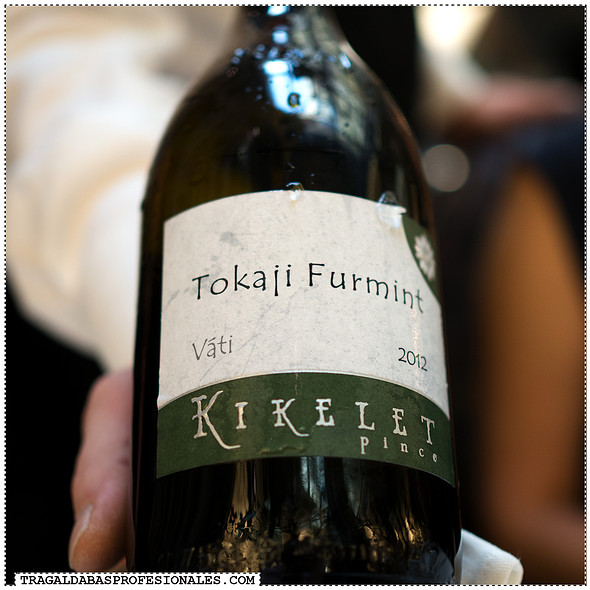 Tokaji Furmint 2012 red wine @ Onyx Restaurant