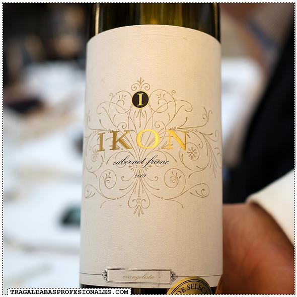 Ikon 2009 wine @ Onyx Restaurant
