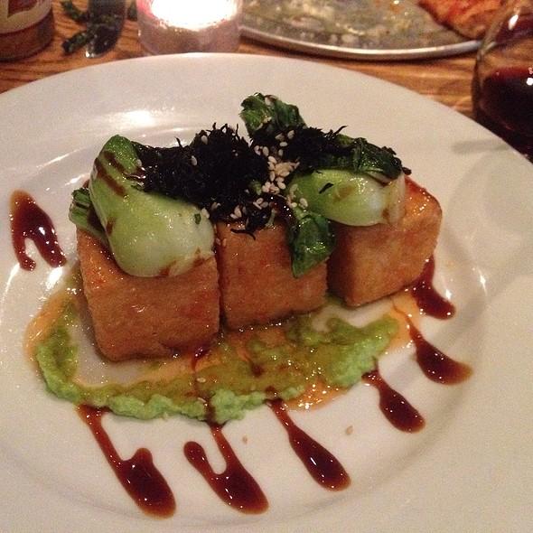 Fried Tofu With Citrus Chili Sauce - The Barrel Room at City Winery, New York, NY