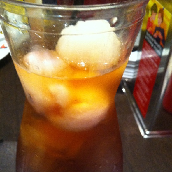 Iced Lychee Tea @ Xin Wang Hong Kong Café - Cineleisure Orchard