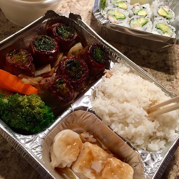 Beef Negimaki @ Yoshii Restaurant