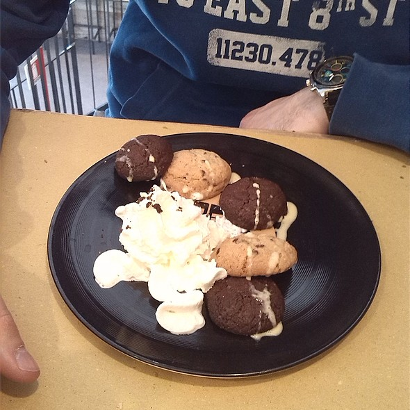 Cookies con panna @ RockBurger Milano