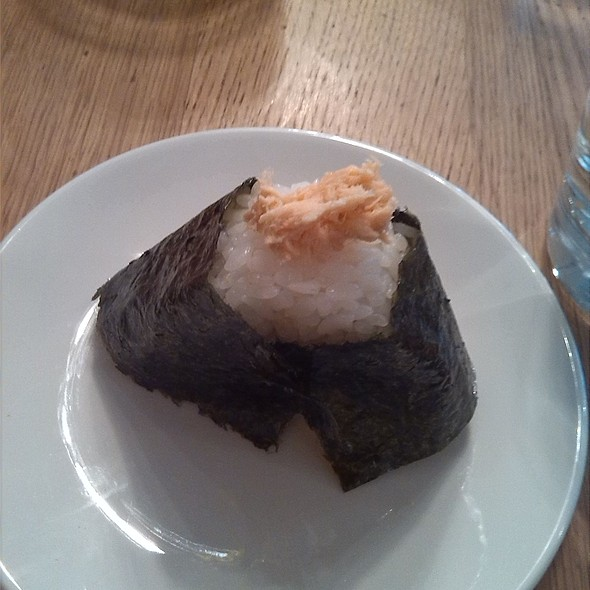 Salmon Onigiri @ Zazà Ramen noodle bar