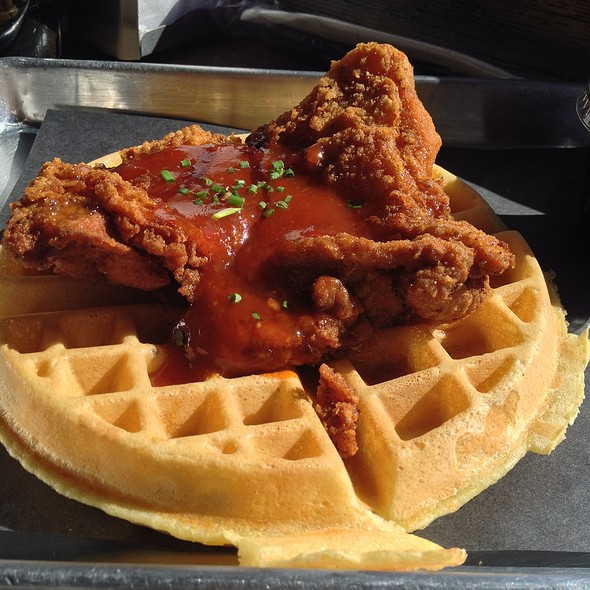 Chicken and Waffles @ The Dirty Bird