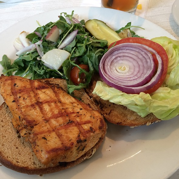 Grilled Chicken Sandwich - Max's Opera Cafe, San Francisco, CA