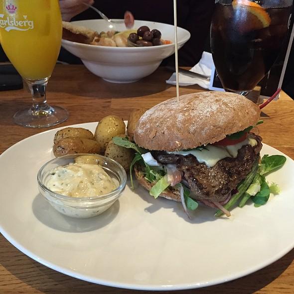 Beef Tenderloin Burger @ Café Faust