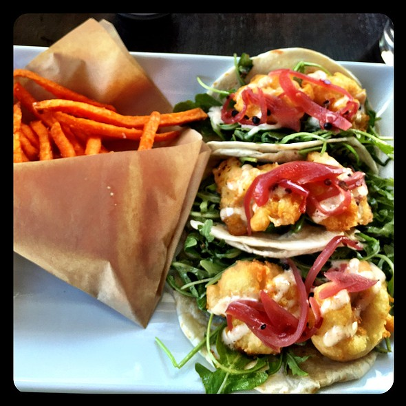 Shrimp Tacos @ Sage Kitchen & Bar