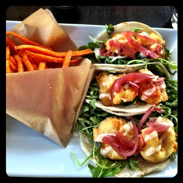 Shrimp Tacos @ Sage Kitchen & Bar