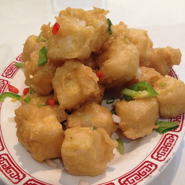 Salt And Pepper Tofu @ Silver Palace Chinese Restaurant