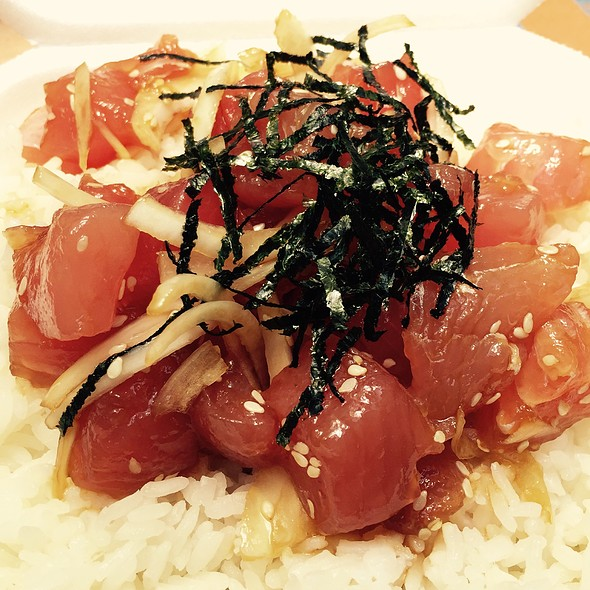 Ahi Poke With Rice