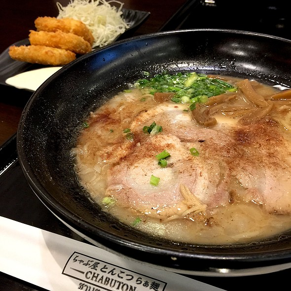 Tonkotsu Dashi Ramen @ Chabuton @ Central World