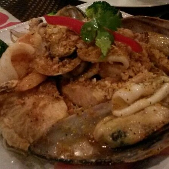 Combination Seafood Garlic