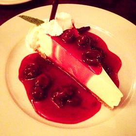 Port Cherry Cheesecake